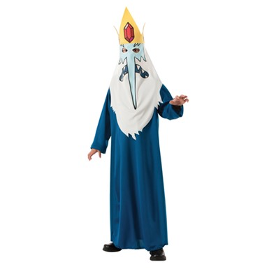 Boys Adventure Time Ice King Halloween Costume