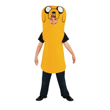Boys Adventure Time Jake Halloween Costume