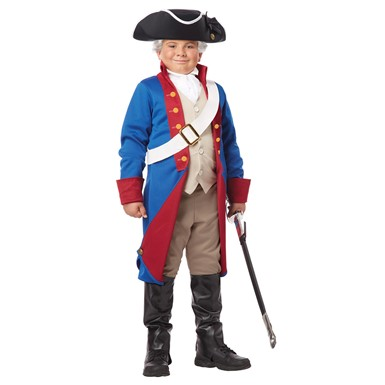Boys American Patriot Halloween Costume