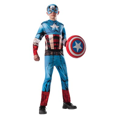 Boys Avengers Captain America Costume