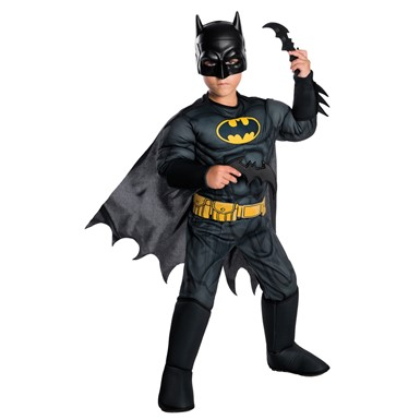 Boys Batman Muscle Chest Costume – The Animated Series