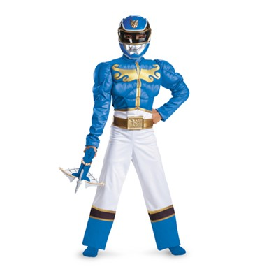 Boys Blue Ranger Megaforce Costume