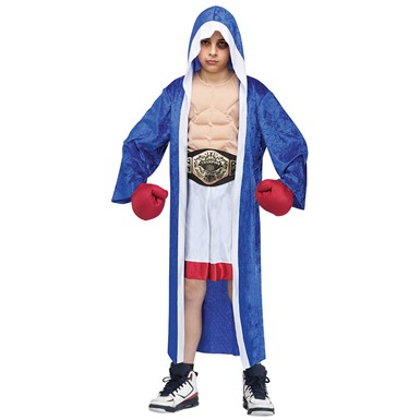 Boys Boxing Champion Halloween Costume