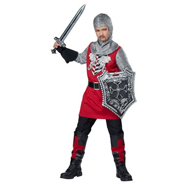 Boys Brave Knight Halloween Costume