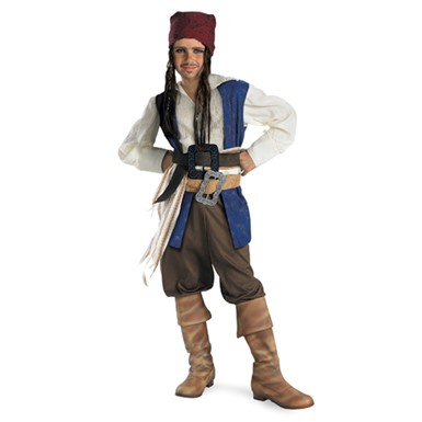 Boys Captain Jack Sparrow Costume