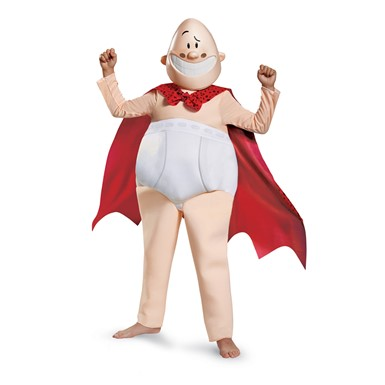 Boys Captain Underpants Deluxe Halloween Costume