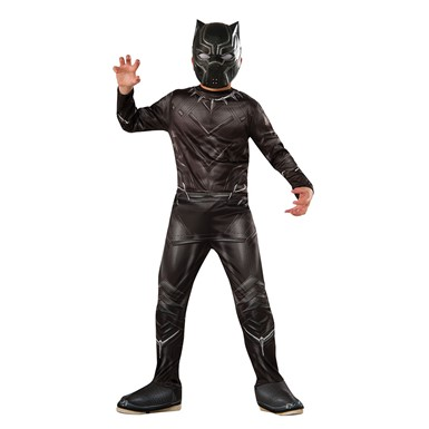 Boys Civil War Black Panther Halloween Costume
