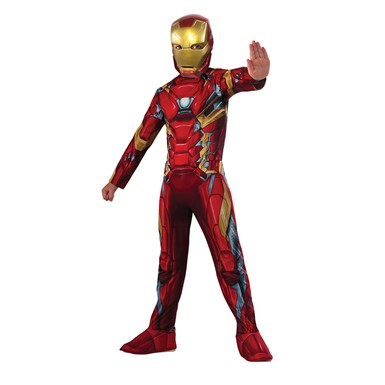 Boys Civil War Iron Man Halloween Costume