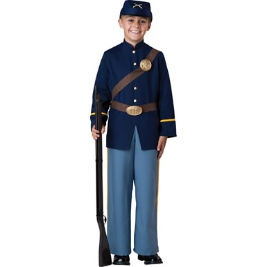 Boys Civil War Union Soldier Costume