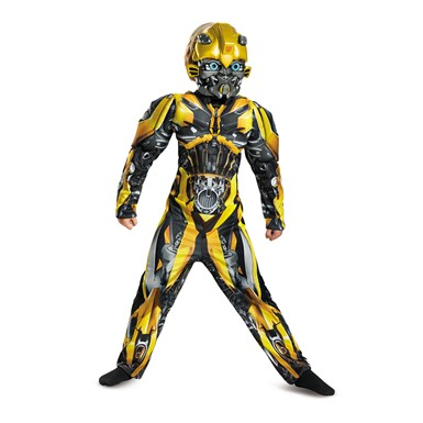 Boys Classic Bumblebee Muscle Costume – Transformers