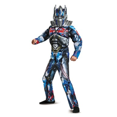 Boys Classic Optimus Prime Muscle Transformers Costume