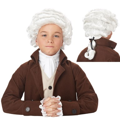 Boys Colonial Man Halloween Wig