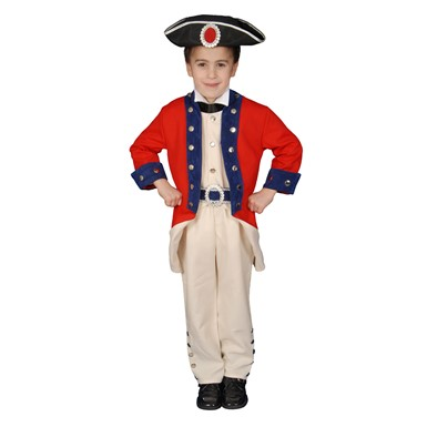 Boys Colonial Soldier Costume