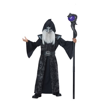 Boys Dark Wizard Halloween Costume