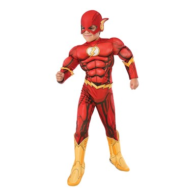 Boys DC Comic Deluxe The Flash Costume