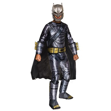 Boys Deluxe Armored Batman Costume – Dawn of Justice