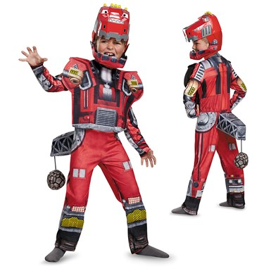 Boys Deluxe Dinotrux Ty Rux Costume
