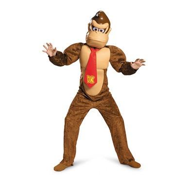 Boys Deluxe Donkey Kong Costume – Super Mario Bros.