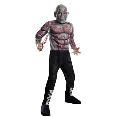 Boys Deluxe Drax The Destroyer Costume