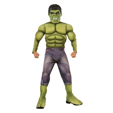 Boys Deluxe Hulk Costume – Muscle Chest