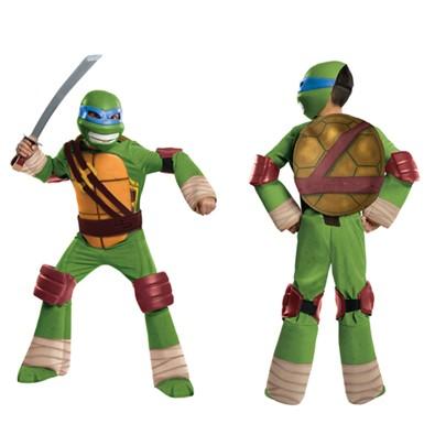 boys deluxe leonardo ninja turtles halloween costume