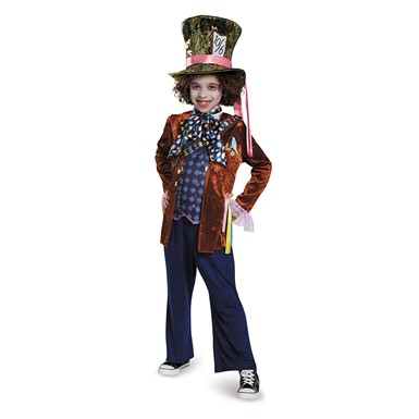 Boys Deluxe Mad Hatter Costume