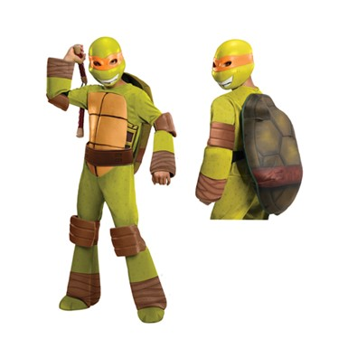 Boys Deluxe Michaelangelo  Costume