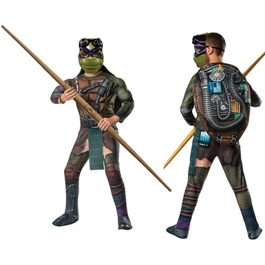 Boys Deluxe Ninja Turtles Donatello Costume