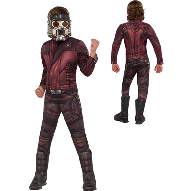 Boys Deluxe Star-Lord Costume – Muscle Chest