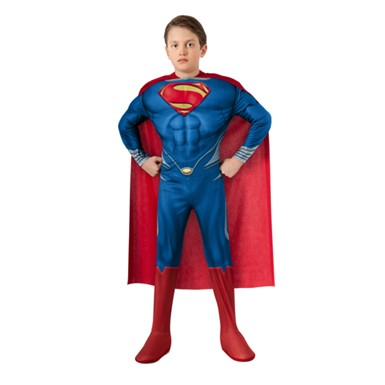 Boys Deluxe Superman Halloween Costume