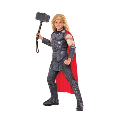 Boys Deluxe Thor Muscle Chest Halloween Costume