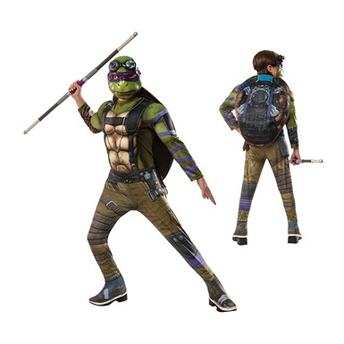 Boys Deluxe TMNT Donatello Out of the Shadows Costume