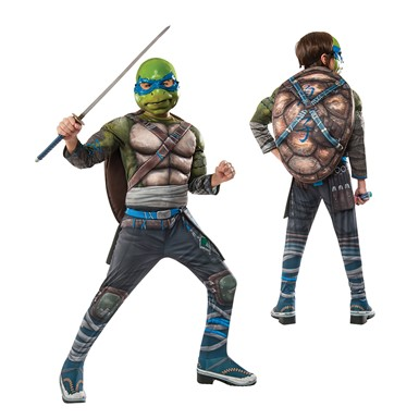 Boys Deluxe TMNT Leonardo Out of the Shadows Costume