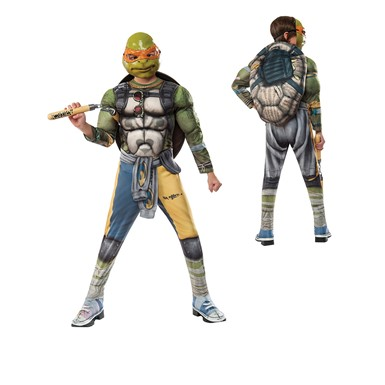 Boys Deluxe TMNT Michelangelo Out of the Shadows Costume