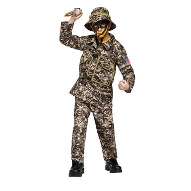 Boys Desert Commando Costume