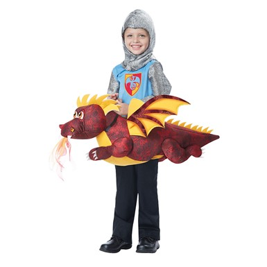 Boys Dragon Rider Medieval Costume size M/L 3T-6T