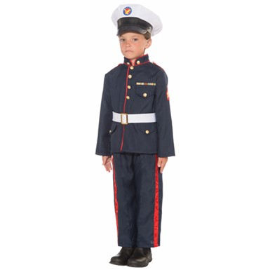 Boys Formal Marine Costume