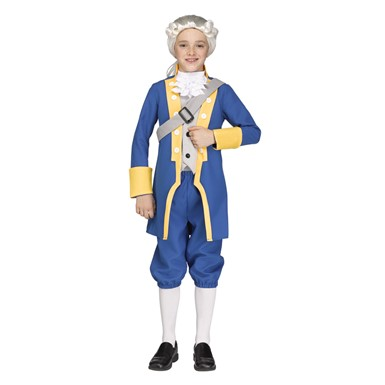 Boys George Washington American Costume
