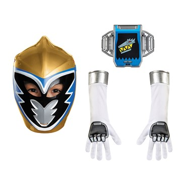 Boys Gold Ranger Dino Charge Child Accessory Kit