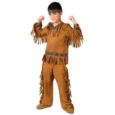 Boys Indian Chief Halloween Native American Costumes
