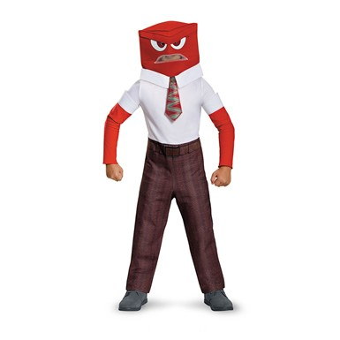Boys Inside Out Anger Costume