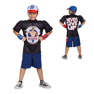 Boys John Cena Muscle Costume – Never Give Up