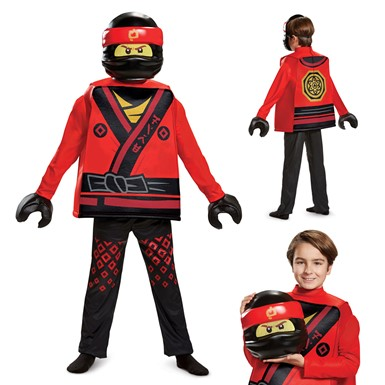 Boys LEGO Ninjago Kai Movie Deluxe Costume