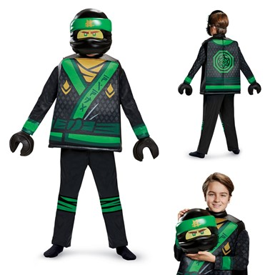 Boys LEGO Ninjago Lloyd Movie Deluxe Costume