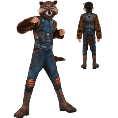 Boys Muscle Chest Rocket Costume – Guardians