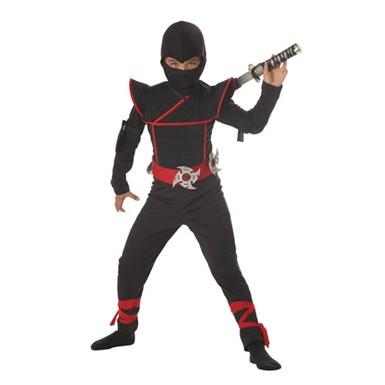 Boys Ninja Costume - Stealth Ninja