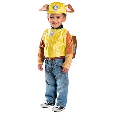 Boys Paw Patrol Rubble Costume