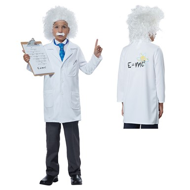 Boys Physicist Albert Einstein Halloween Costume