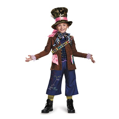 Boys Prestige Mad Hatter Costume