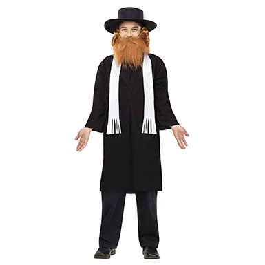 Boys Rabbi Halloween Costume